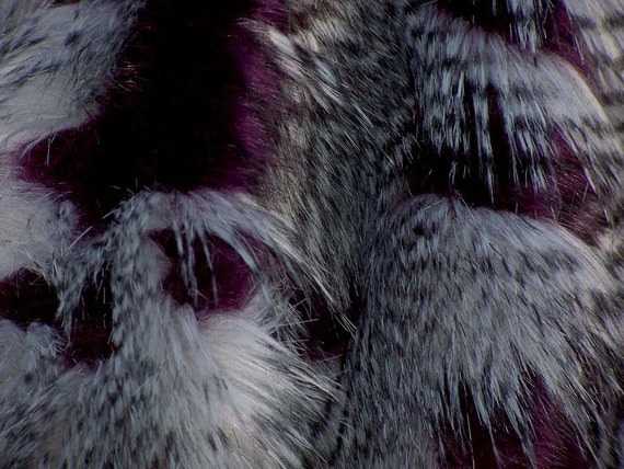 GaGa Deep Wine Feather Fur to Die For. . . Special Collection with Free Shipping ! !