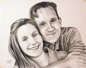 Custom Portrait of YOU 11x14 (two people)