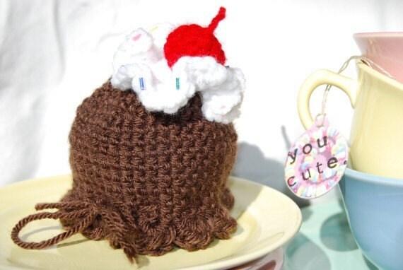 chocolate ice cream bun cover