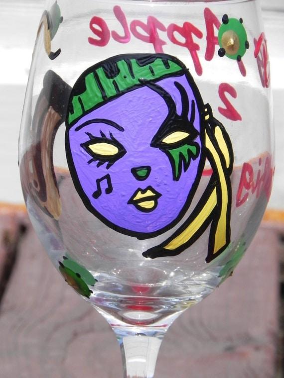 Hometown Wine Glass