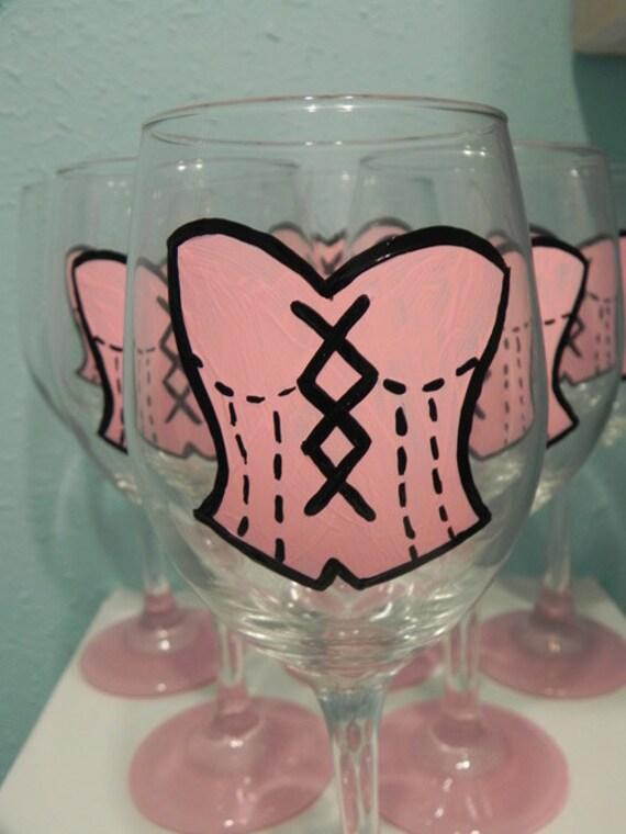 Corset Wine Glass