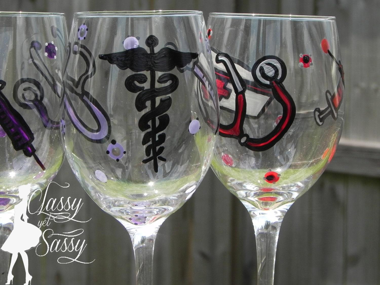 Best Dishwasher For Wine Glasses Dishwasher Safe Nurses Best Friend Wine Glass