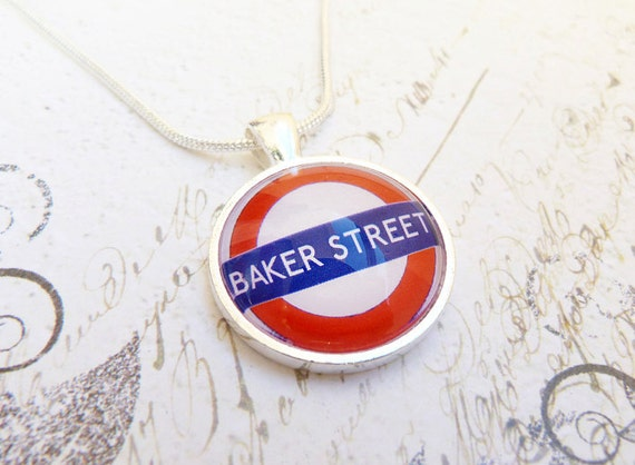 London Tube - Sterling Silver Necklace
