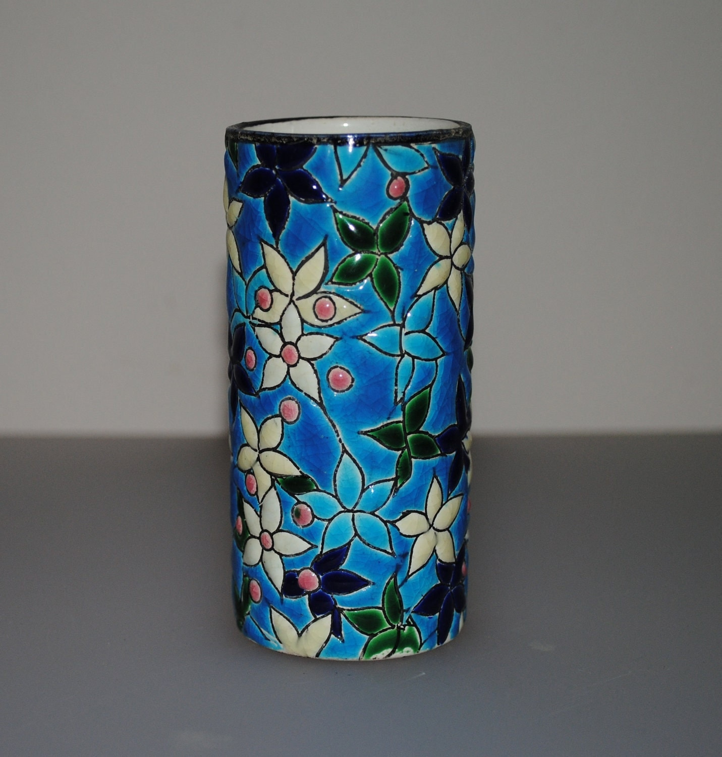 how to make ceramic pot painting