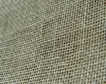 Pure thin linen fabric// gauze//naturel