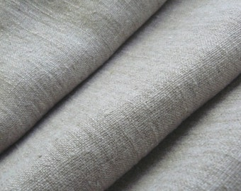 ECO FRIENDLY Natural burlap linen fabric with softening--Linen--Natural