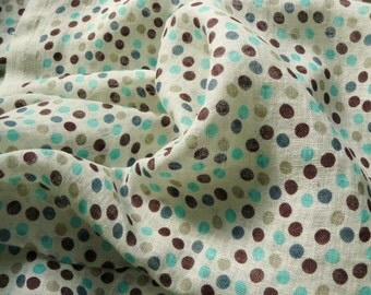 Linen fabric#Transparent thin fabric with bubbles#Soft