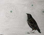 Print of painting  'Birds' choice'