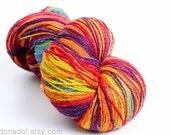 Kauni Wool Yarn Effektgarn, Self Striping Rainbow Gradient, dk 2ply FREE SHIPPING WORLDWIDE