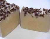 Mint Chocolate Chip Soap Vegan Handmade 5 oz.
