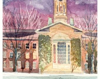 Winter In Princeton 2001