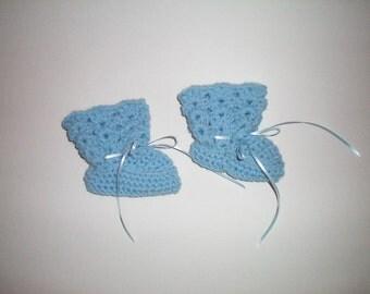 Crochet Baby Booties - Item CBJ562