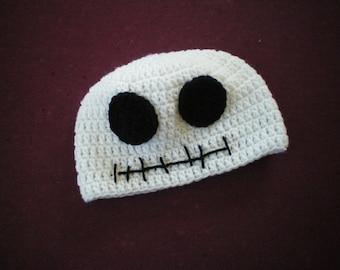 Crochet Scary Jack Hat - Item  CBJ123S - TOD