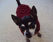Small Red Sweater for Dogs