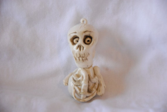 Funny Bones Halloween  skeleton ornament