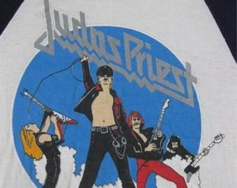 Original JUDAS PRIEST 1979 tour SHIRT concert jersey