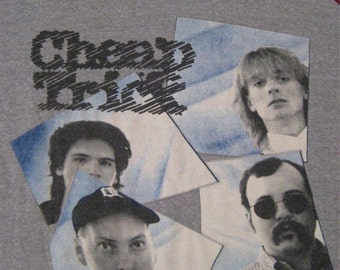 Original CHEAP TRICK vintage 1981 tour SHIRT