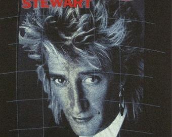 Original ROD STEWART vintage 1984 tour TSHIRT xl