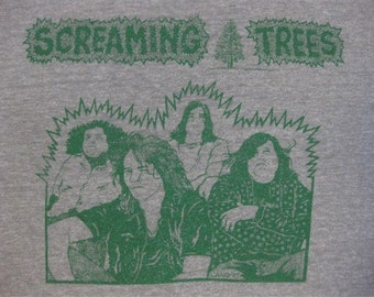 Original SCREAMING TREES vintage 1987 tour TSHIRT