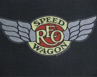 Original REO SPEEDWAGON vintage 1981 tour TSHIRT