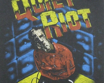 Original QUIET RIOT vintage 1983 TSHIRT