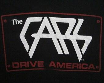 Original THE CARS vintage 1979 TSHIRT