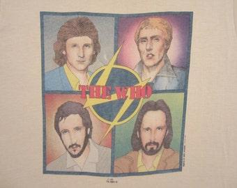 Original THE WHO vintage 1979 tour SHIRT