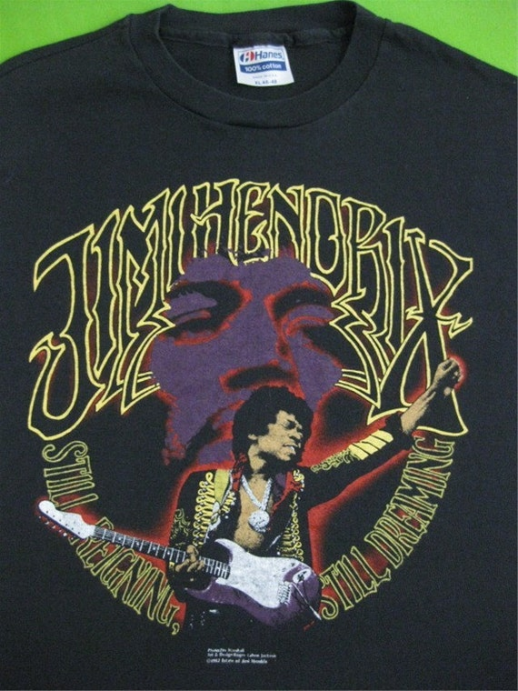 Reserved for Tony Russel Vintage JIMI HENDRIX 1982 T SHIRT mint L