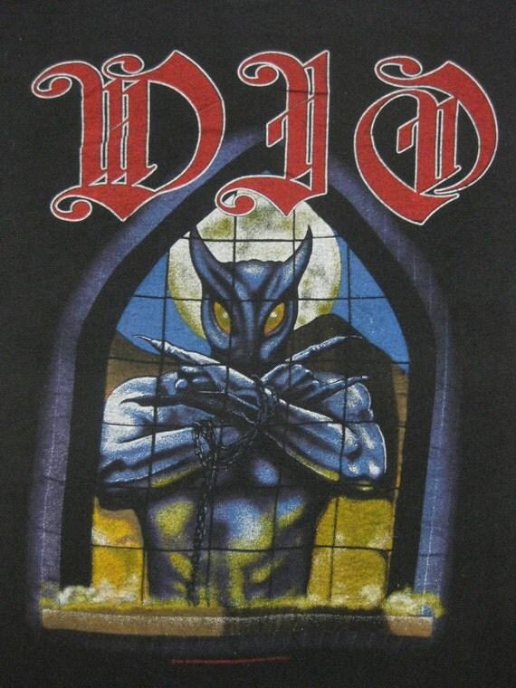 Original DIO 1987 vintage tour SHIRT