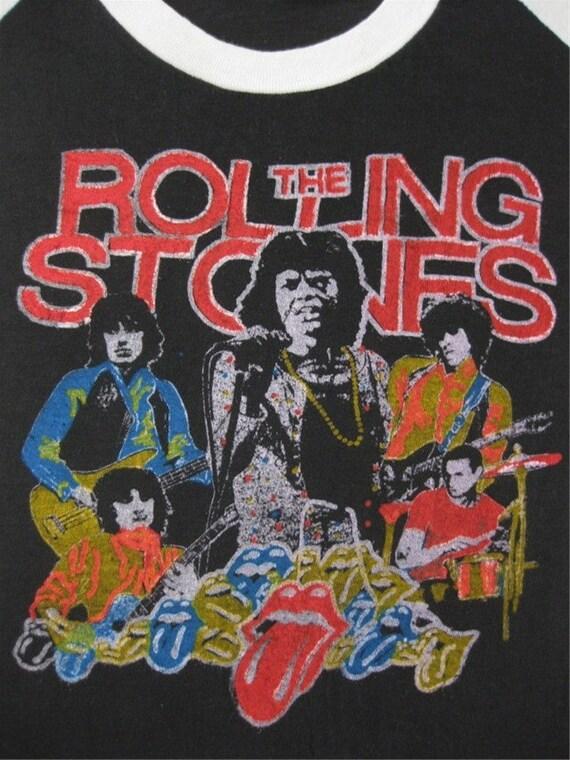 Original ROLLING STONES 1978 vintage tour SHIRT