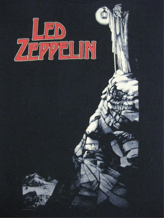 Original LED ZEPPELIN vintage 1984 SHIRT xl