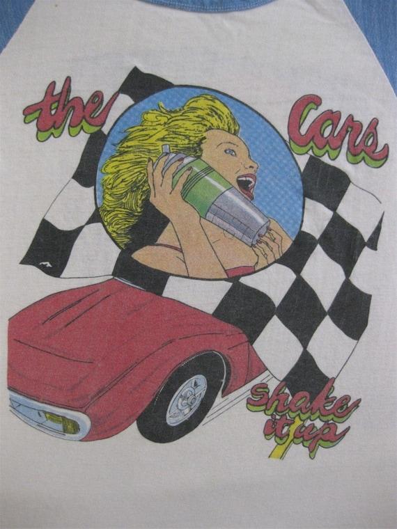 Original THE CARS vintage 70s TSHIRT