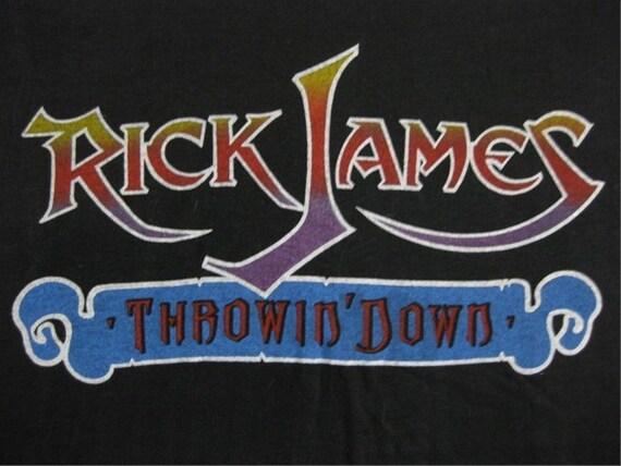 Original RICK JAMES vintage 80s tour TSHIRT