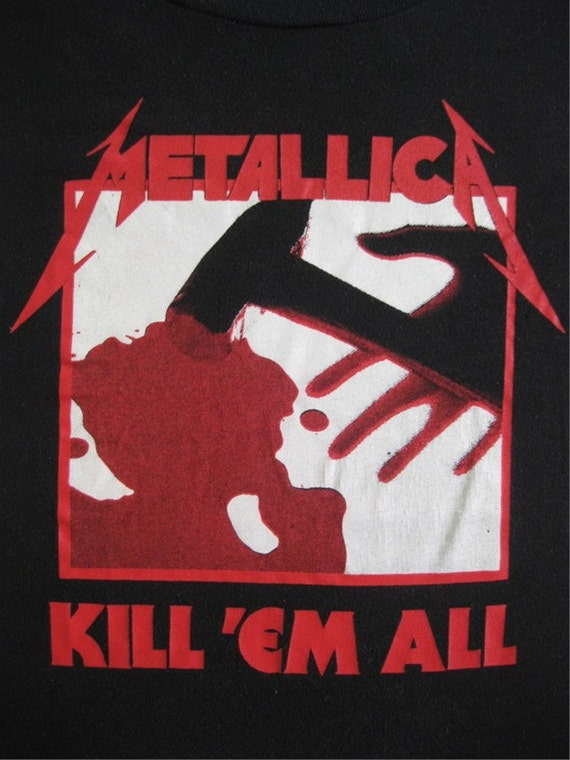 Original METALLICA vintage 80s SHIRT