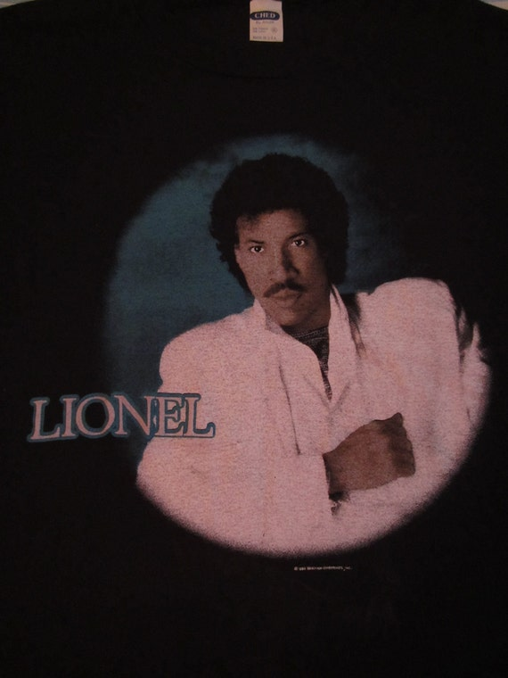 Original LIONEL RICHIE 1985 tour TSHIRT