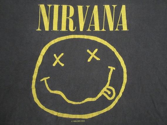Original NIRVANA vintage 1992 TSHIRT