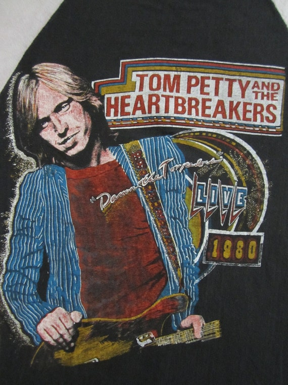 Original TOM PETTY 1980 vintage tour TSHIRT