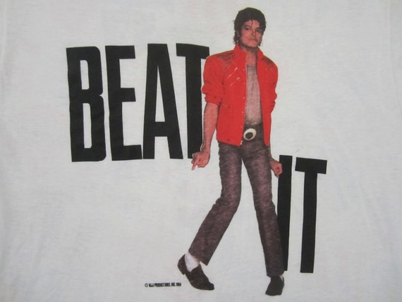 Original MICHAEL JACKSON vintage 1984 SHIRT mint unused xl