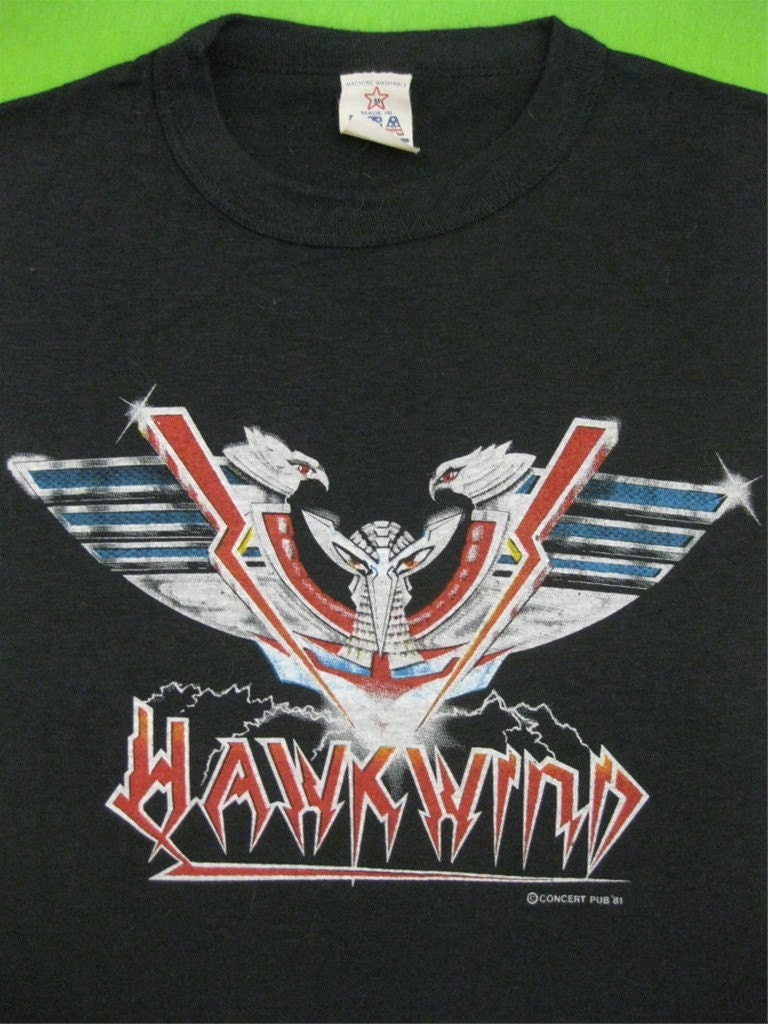 Hawkwind  Tour T Shirt