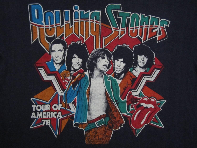 Original Rolling Stones Vintage 1978 Tour Shirt
