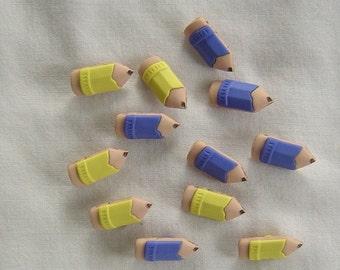 Pencils - Buttons/Embellishments