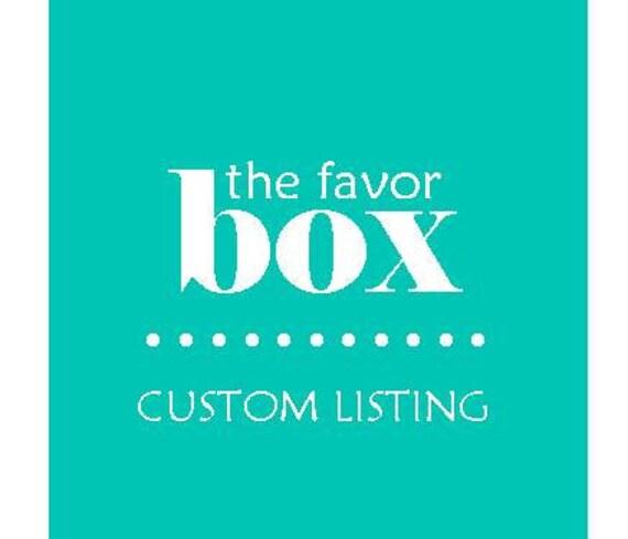 Custom Listing for Ashime