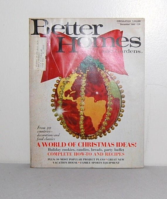 1968  Better Homes and Gardens Magazine