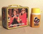 Mork & Mindy Lunch Box c.1979 with Thermos