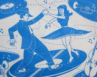Swing Dancer Tote Bag