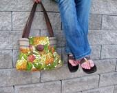 Handbag Purse : Vibrant Garden
