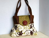 Handbag Purse Everyday Bag : Key Lime