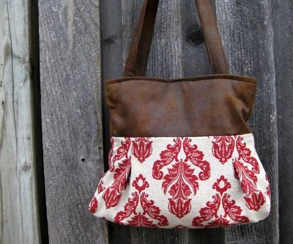 Handbag Purse Shoulder Bag Faux leather : Helena