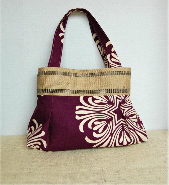 Handbag Purse Everyday Bag : Plum Crazy for You