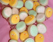 Easter cookies - mini chicks and eggs - 2 dozen
